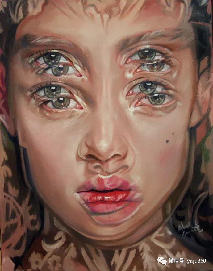 多彩重叠的肖像 Alex Garant插图99