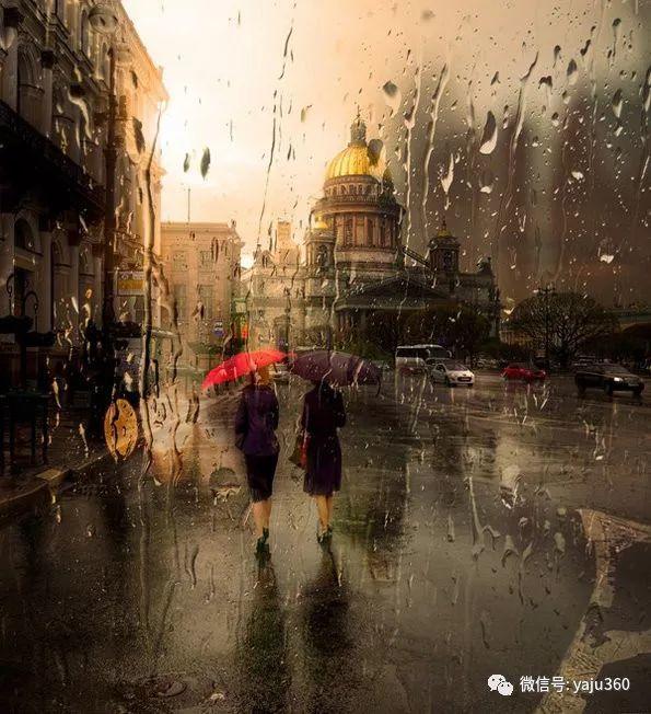 雨中街景2 俄罗斯Eduard Gordeev插图1