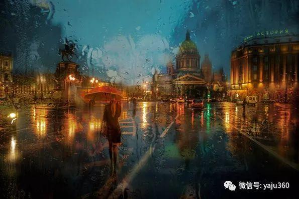 雨中街景2 俄罗斯Eduard Gordeev插图3