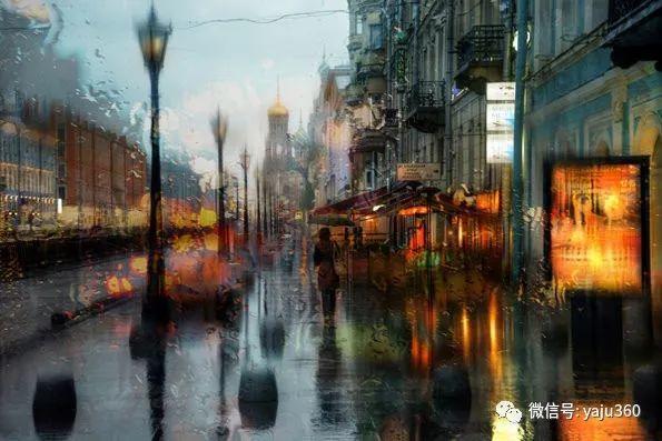 雨中街景2 俄罗斯Eduard Gordeev插图5