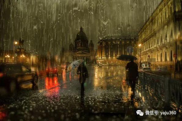 雨中街景2 俄罗斯Eduard Gordeev插图7