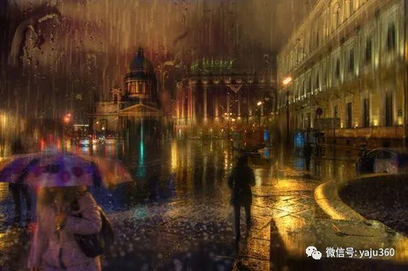 雨中街景2 俄罗斯Eduard Gordeev插图13