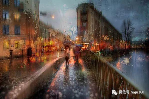 雨中街景2 俄罗斯Eduard Gordeev插图15