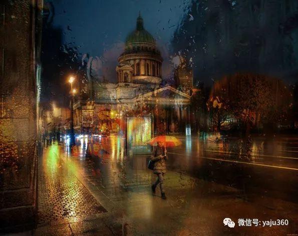 雨中街景2 俄罗斯Eduard Gordeev插图19