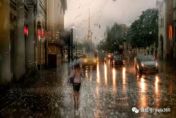 雨中街景2 俄罗斯Eduard Gordeev插图21