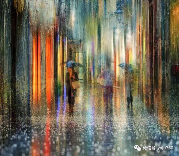 雨中街景2 俄罗斯Eduard Gordeev插图23
