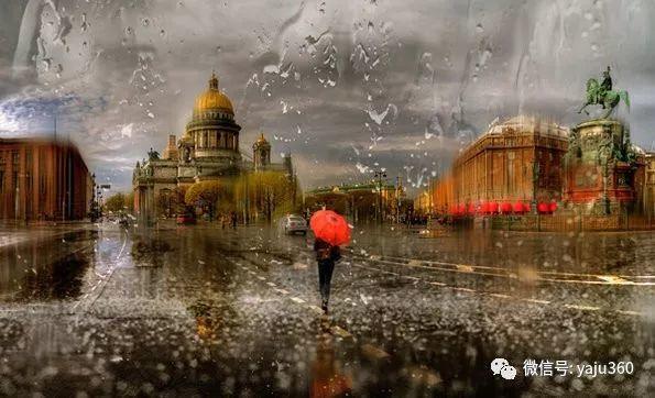 雨中街景2 俄罗斯Eduard Gordeev插图25