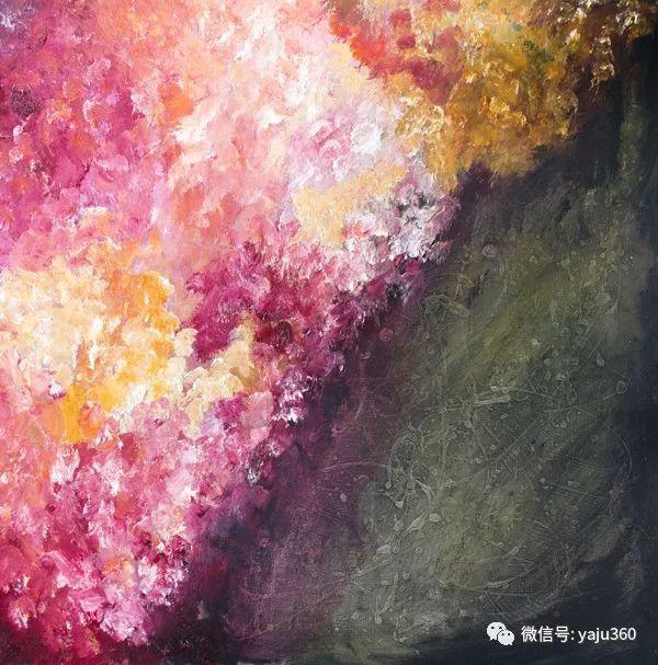 抽象油画作品欣赏 美Abigail Markov插图3
