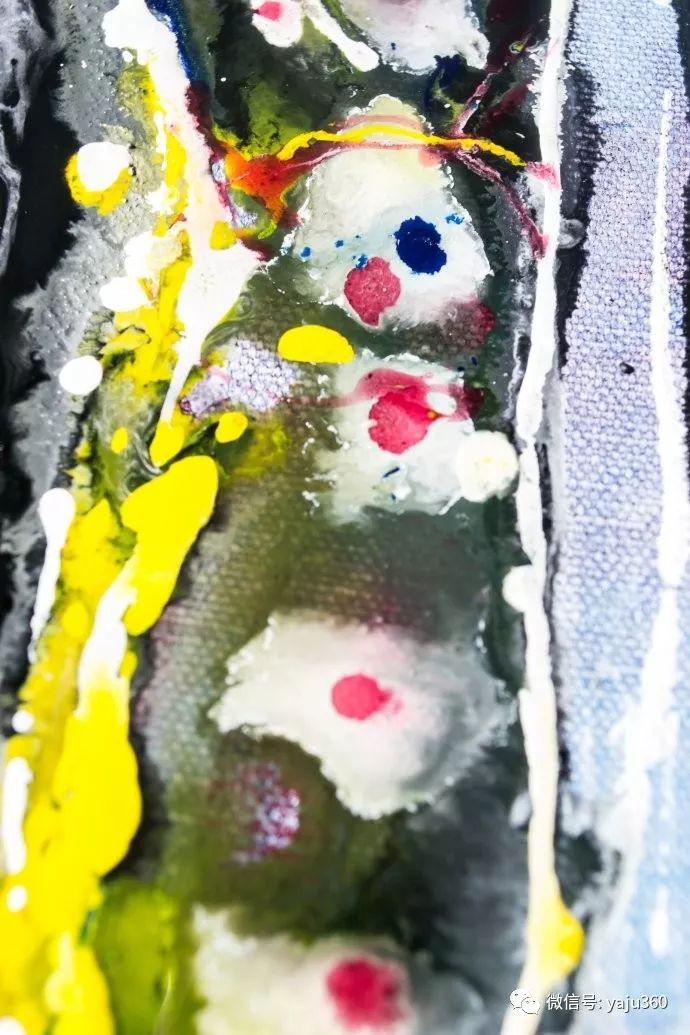 抽象油画作品欣赏 美Abigail Markov插图9