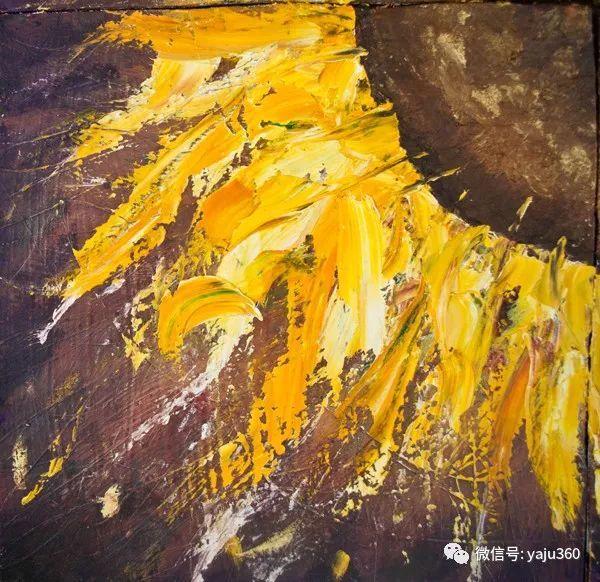 抽象油画作品欣赏 美Abigail Markov插图17