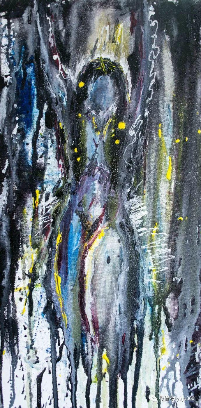 抽象油画作品欣赏 美Abigail Markov插图21