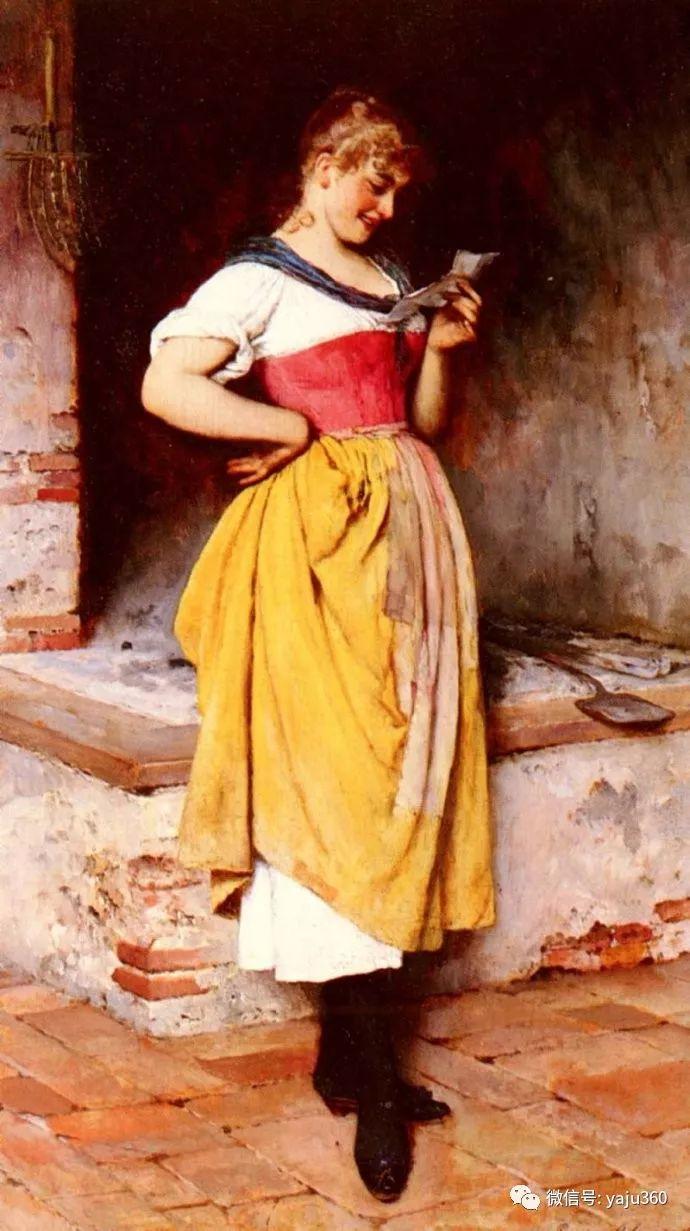 人物油画 意大利Eugene De Blass插图41
