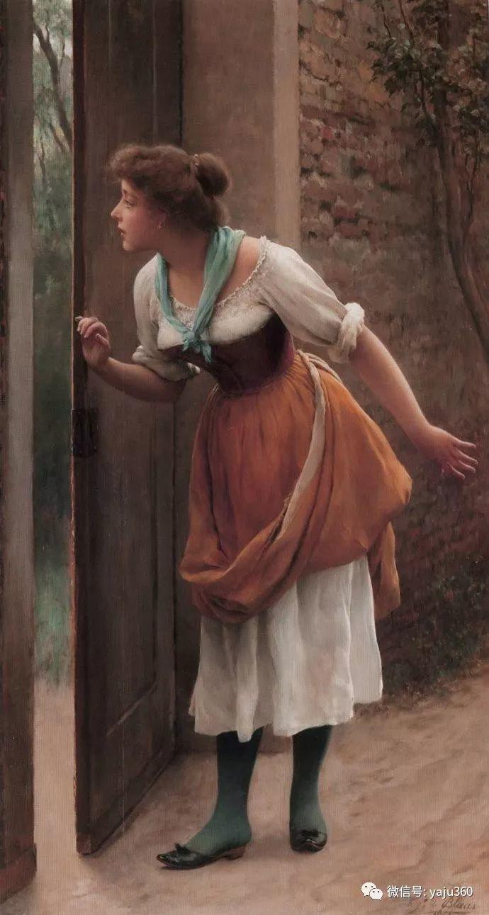 人物油画 意大利Eugene De Blass插图43