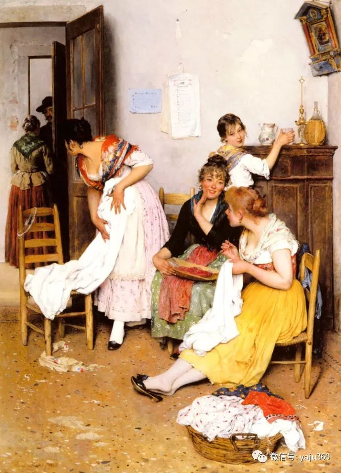 人物油画 意大利Eugene De Blass插图47