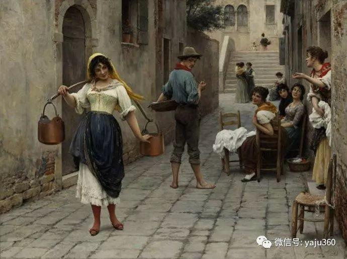 人物油画 意大利Eugene De Blass插图57