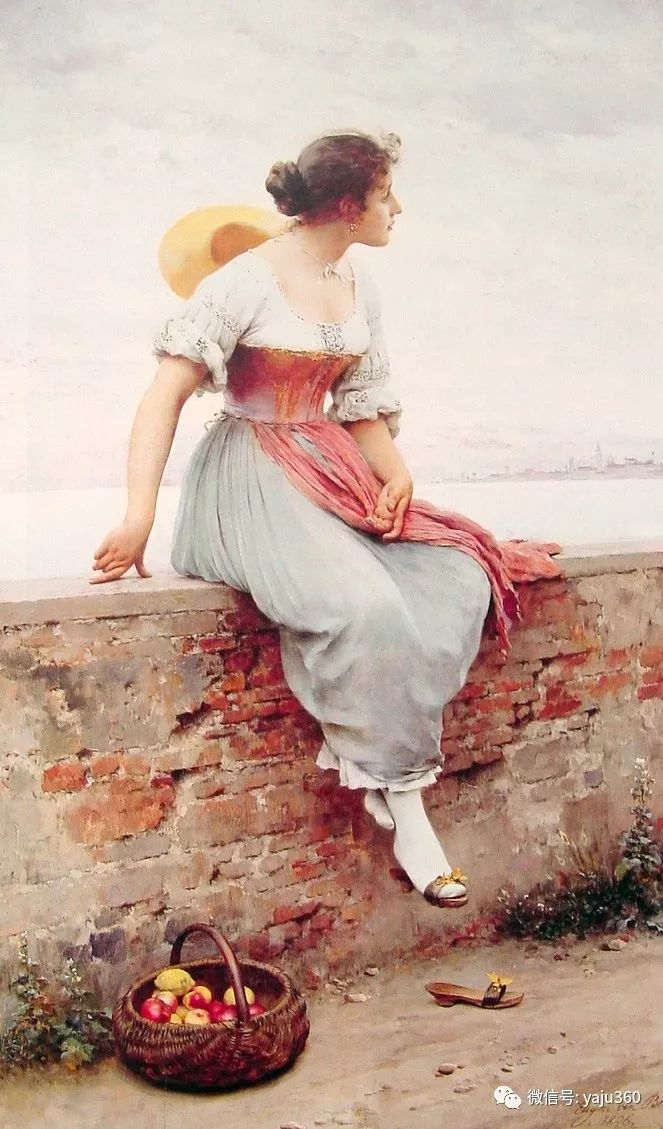 人物油画 意大利Eugene De Blass插图59