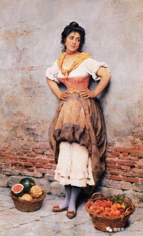 人物油画 意大利Eugene De Blass插图61