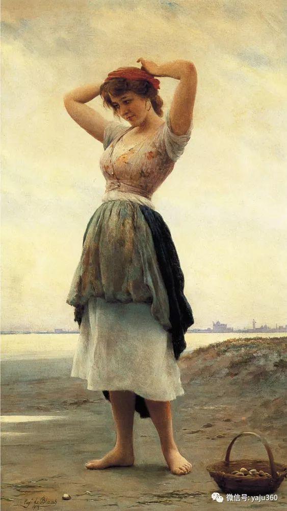 人物油画 意大利Eugene De Blass插图69