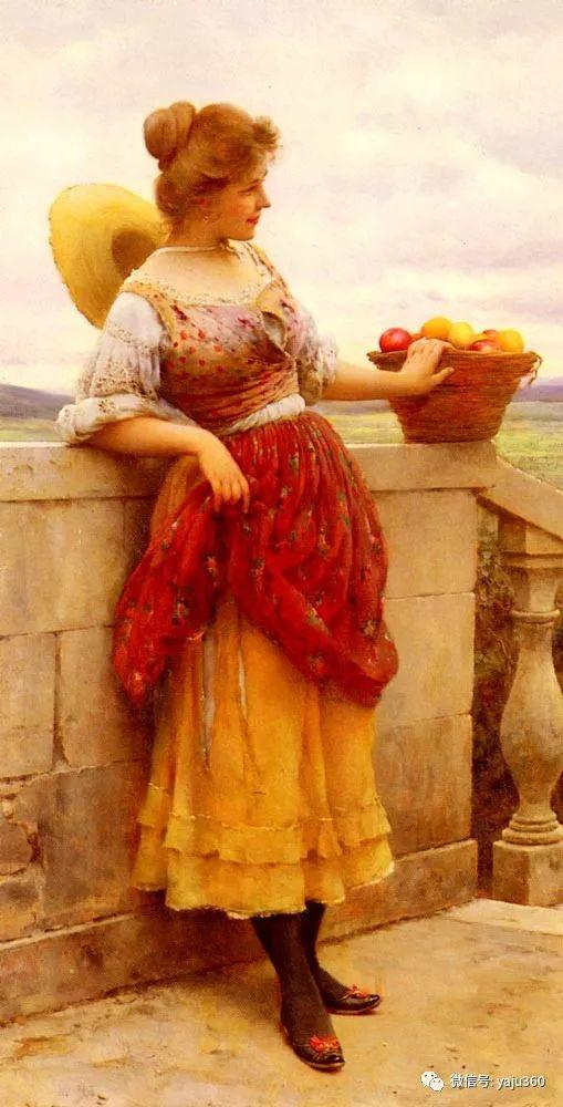 人物油画 意大利Eugene De Blass插图79
