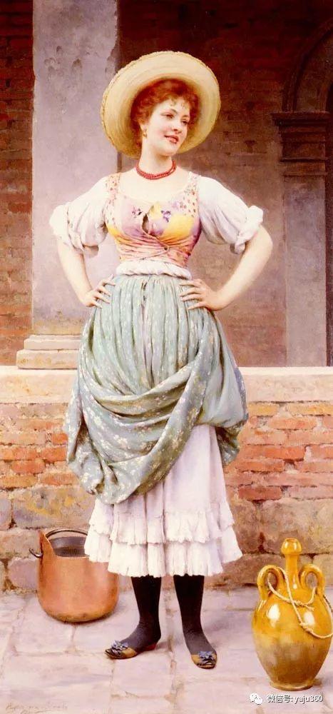 人物油画 意大利Eugene De Blass插图85