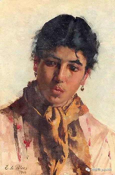 人物油画 意大利Eugene De Blass插图87