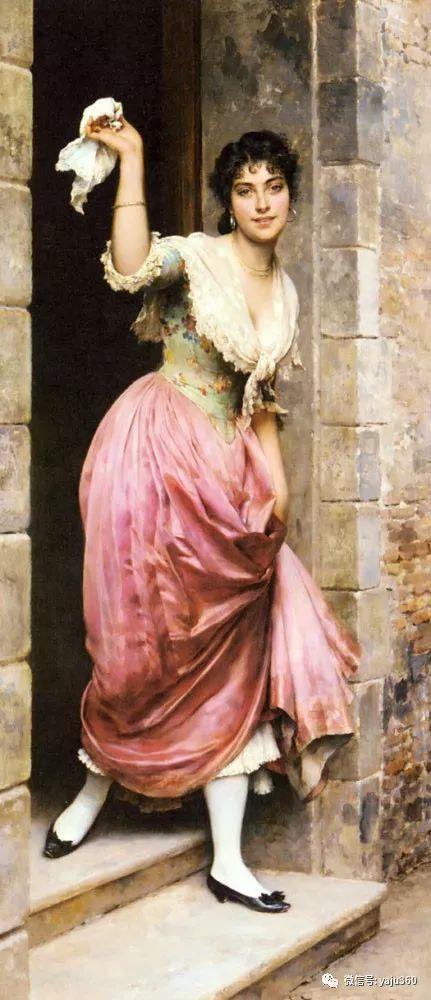 人物油画 意大利Eugene De Blass插图93