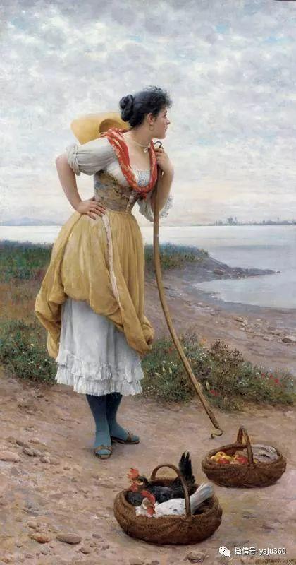 人物油画 意大利Eugene De Blass插图97