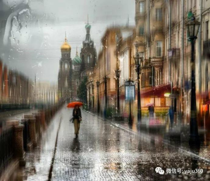 雨中街景 俄罗斯Eduard Gordeev插图3