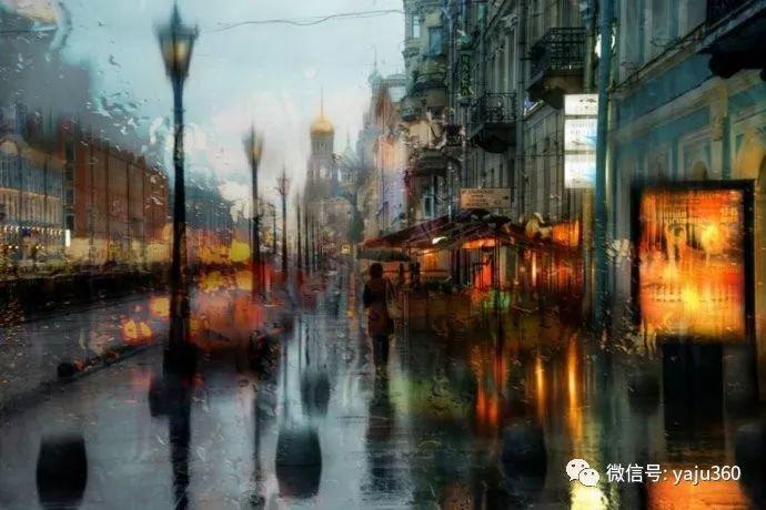 雨中街景 俄罗斯Eduard Gordeev插图5