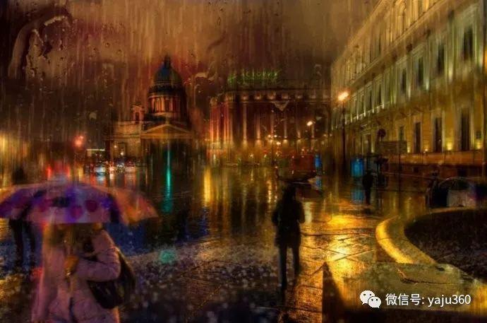 雨中街景 俄罗斯Eduard Gordeev插图7