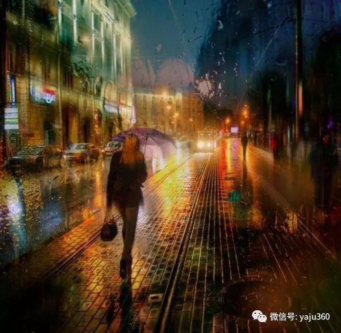 雨中街景 俄罗斯Eduard Gordeev插图13