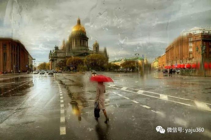 雨中街景 俄罗斯Eduard Gordeev插图23