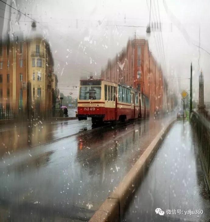 雨中街景 俄罗斯Eduard Gordeev插图25