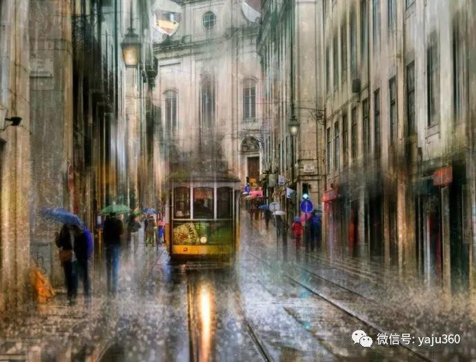 雨中街景 俄罗斯Eduard Gordeev插图29