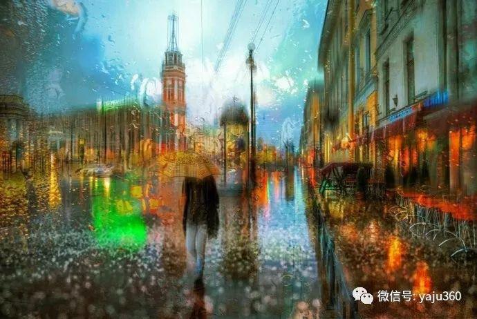 雨中街景 俄罗斯Eduard Gordeev插图31