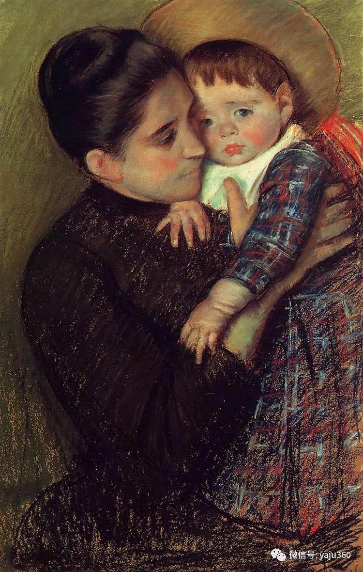 美Mary Cassatt油画欣赏插图1
