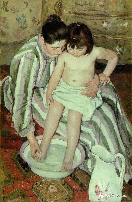 美Mary Cassatt油画欣赏插图3
