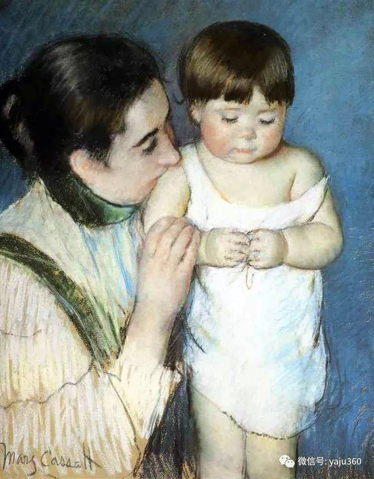 美Mary Cassatt油画欣赏插图5