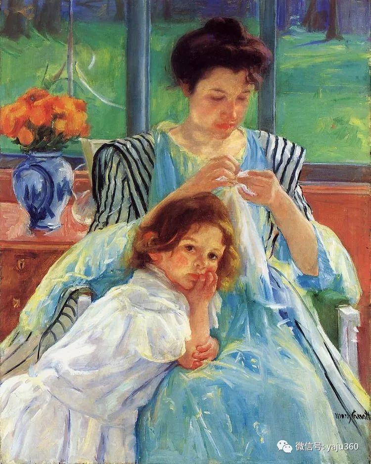 美Mary Cassatt油画欣赏插图7