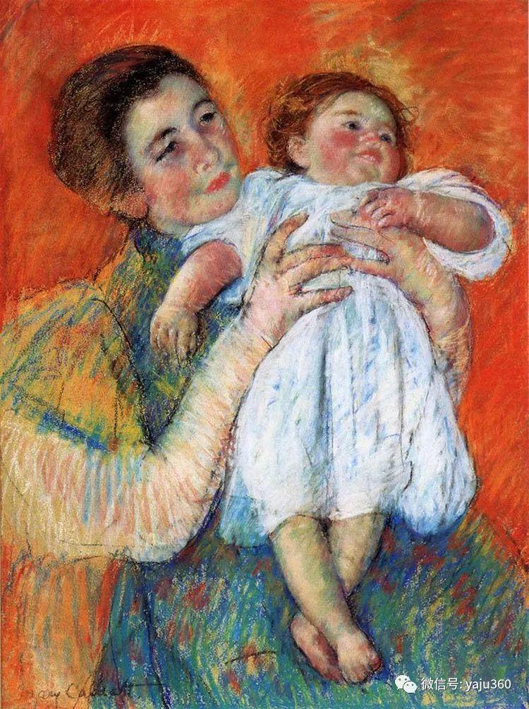 美Mary Cassatt油画欣赏插图9