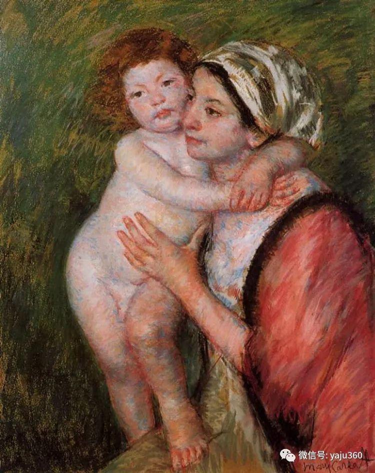 美Mary Cassatt油画欣赏插图11