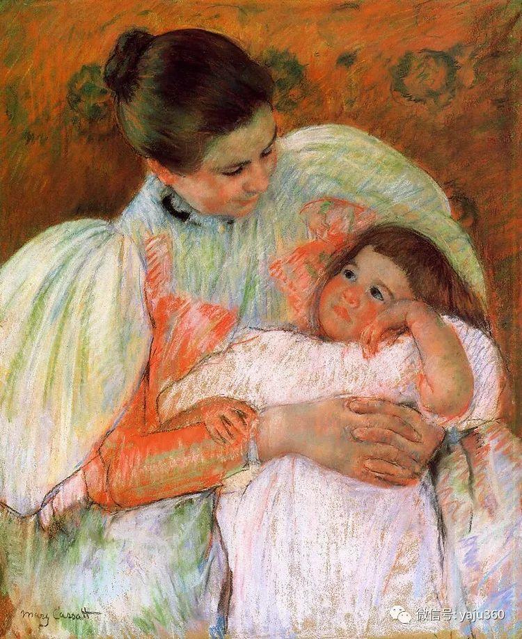 美Mary Cassatt油画欣赏插图13
