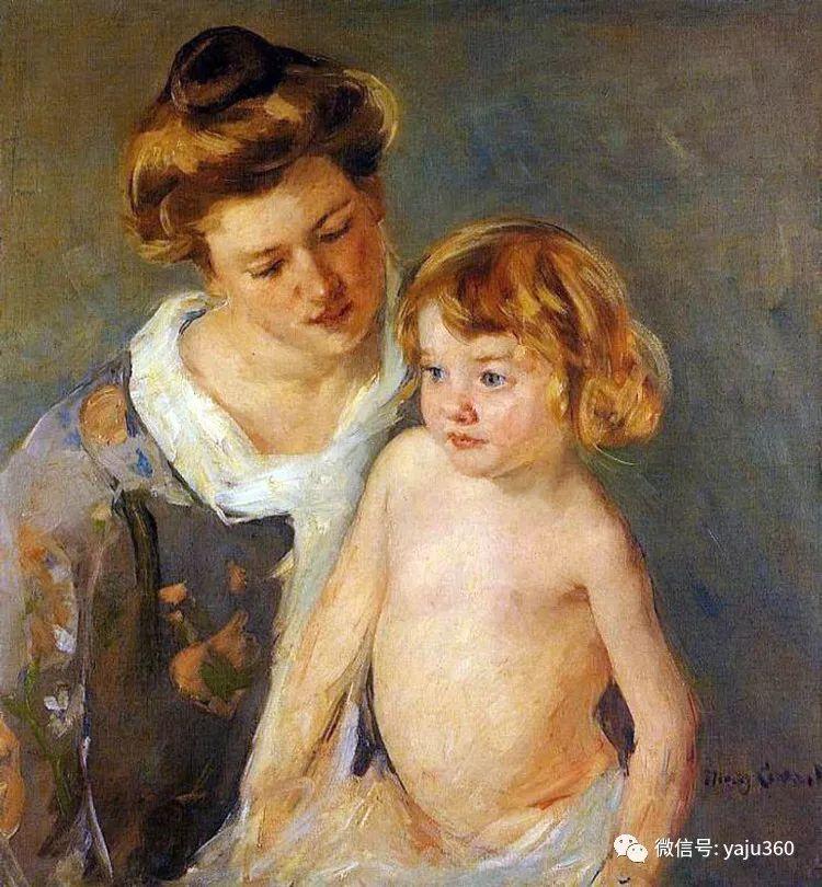 美Mary Cassatt油画欣赏插图15