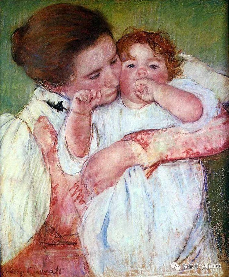 美Mary Cassatt油画欣赏插图17