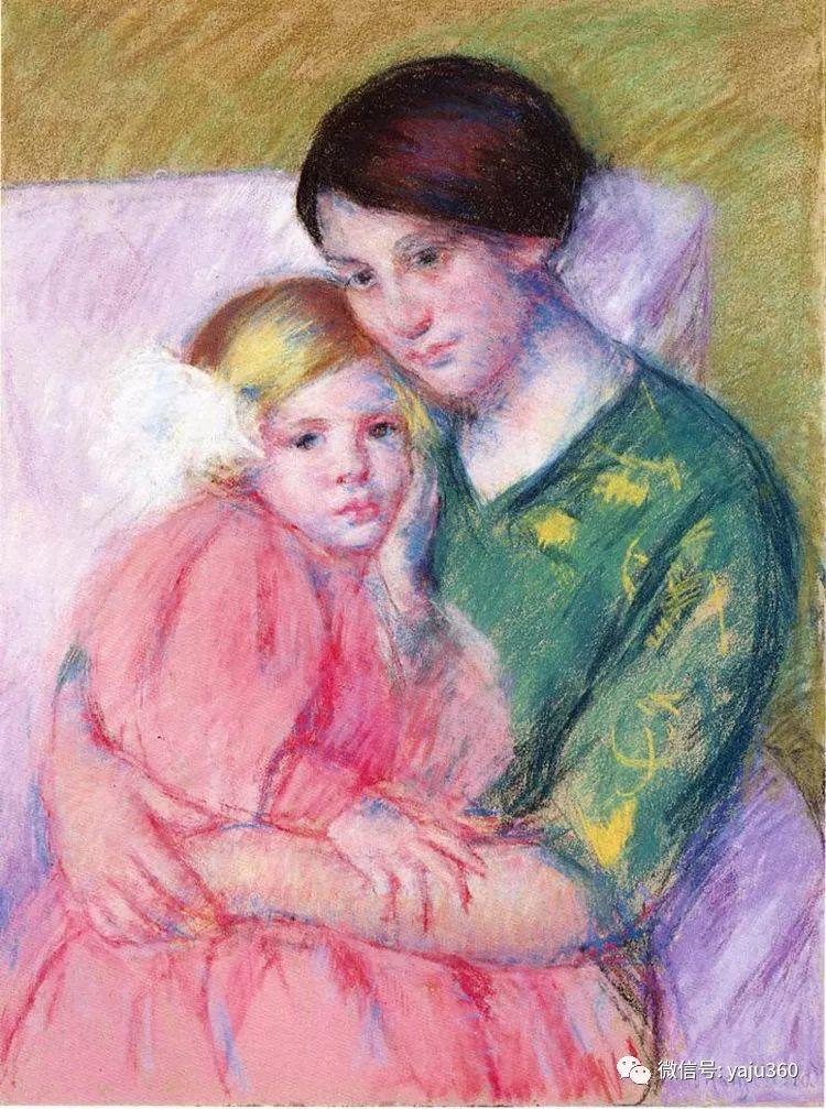 美Mary Cassatt油画欣赏插图19