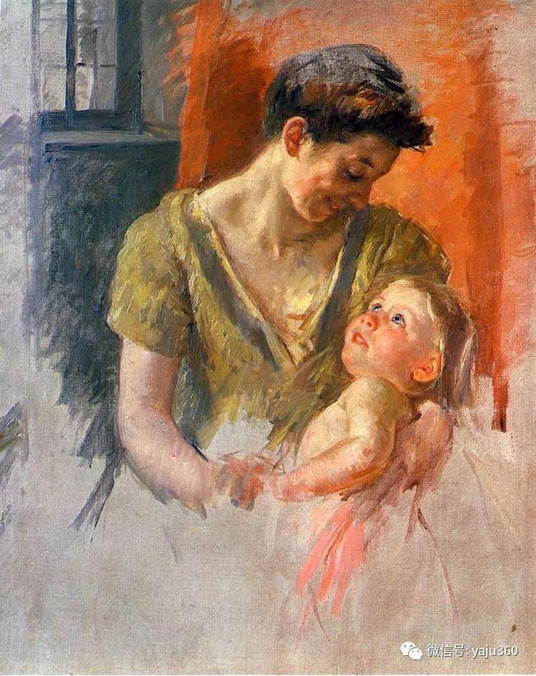 美Mary Cassatt油画欣赏插图21