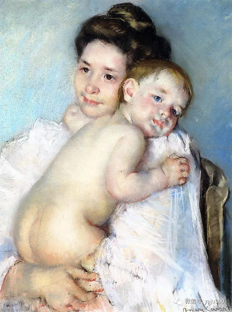 美Mary Cassatt油画欣赏插图23