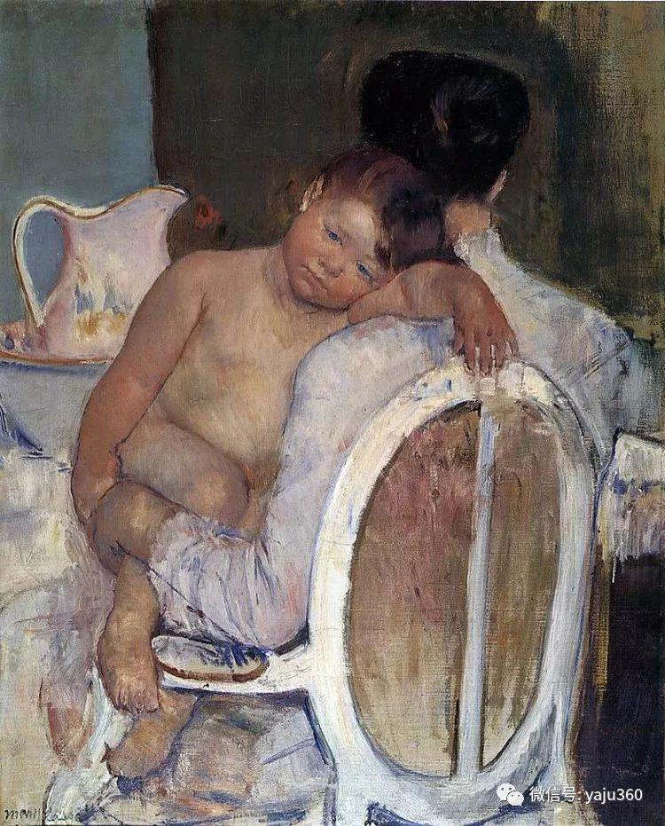 美Mary Cassatt油画欣赏插图25