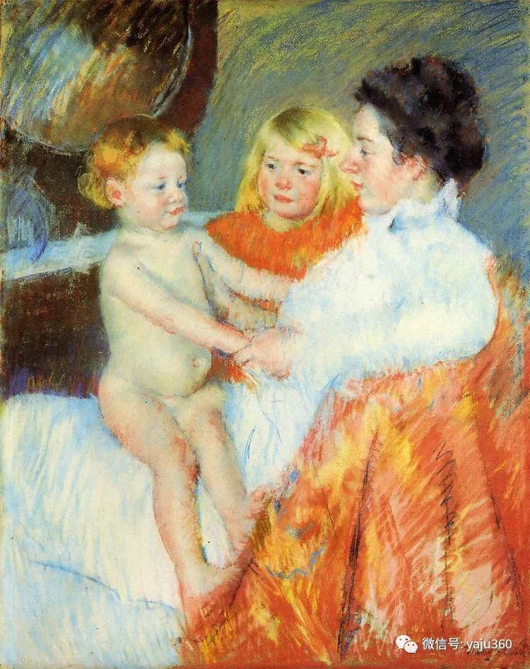 美Mary Cassatt油画欣赏插图29