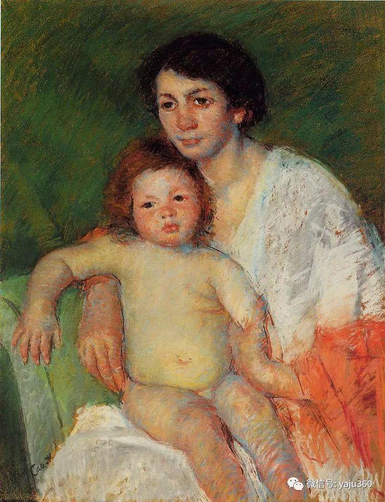 美Mary Cassatt油画欣赏插图33